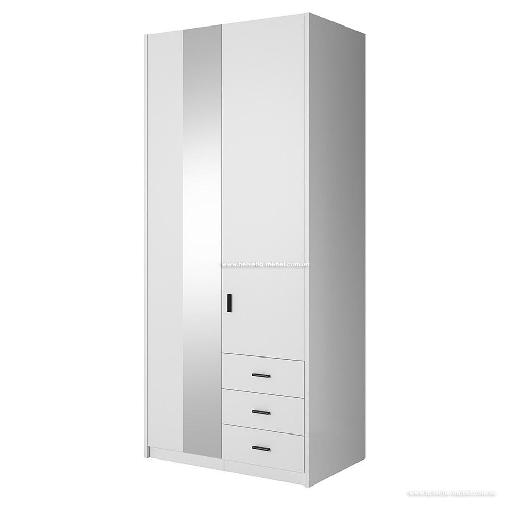 Шкаф Gamma (94см) 2497GD18 Белый