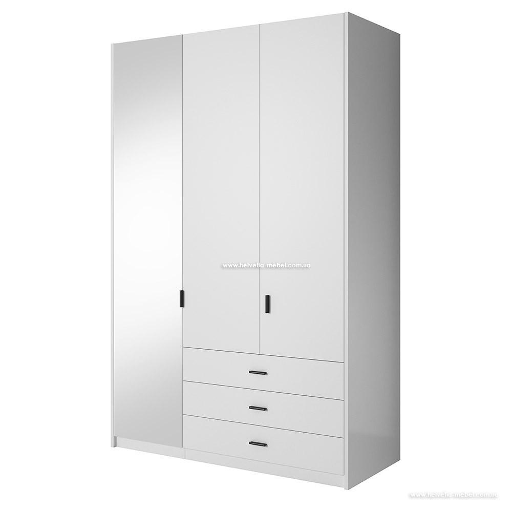 Шкаф Gamma (138см) 2497GD19 Белый