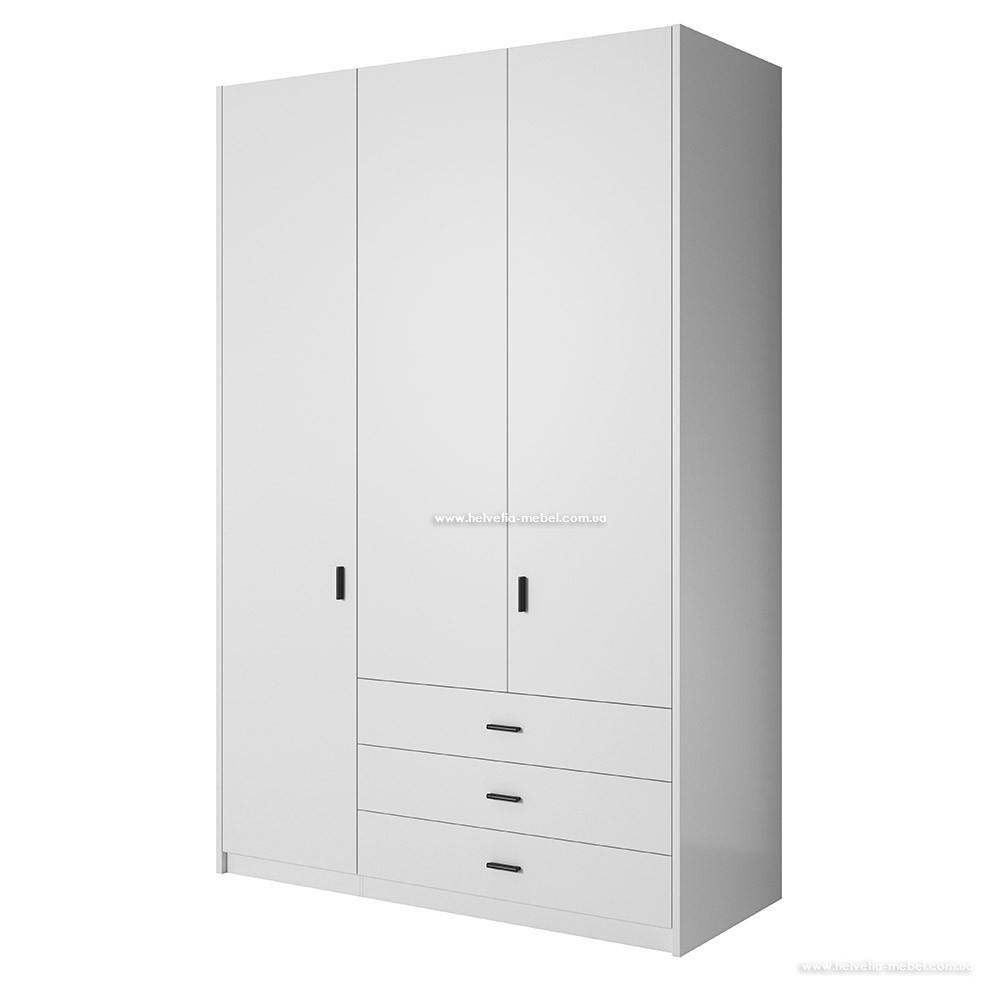 Шкаф Gamma (138см) 2497GD59 Белый