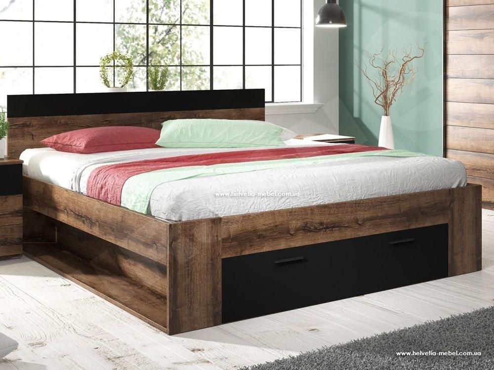Кровать 160х200 Beta дуб монастери