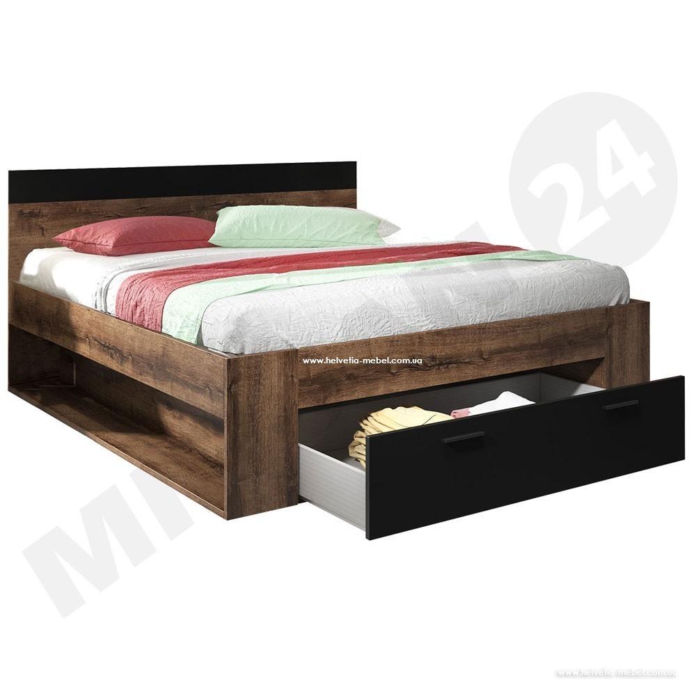 Кровать 180х200 Beta дуб монастери