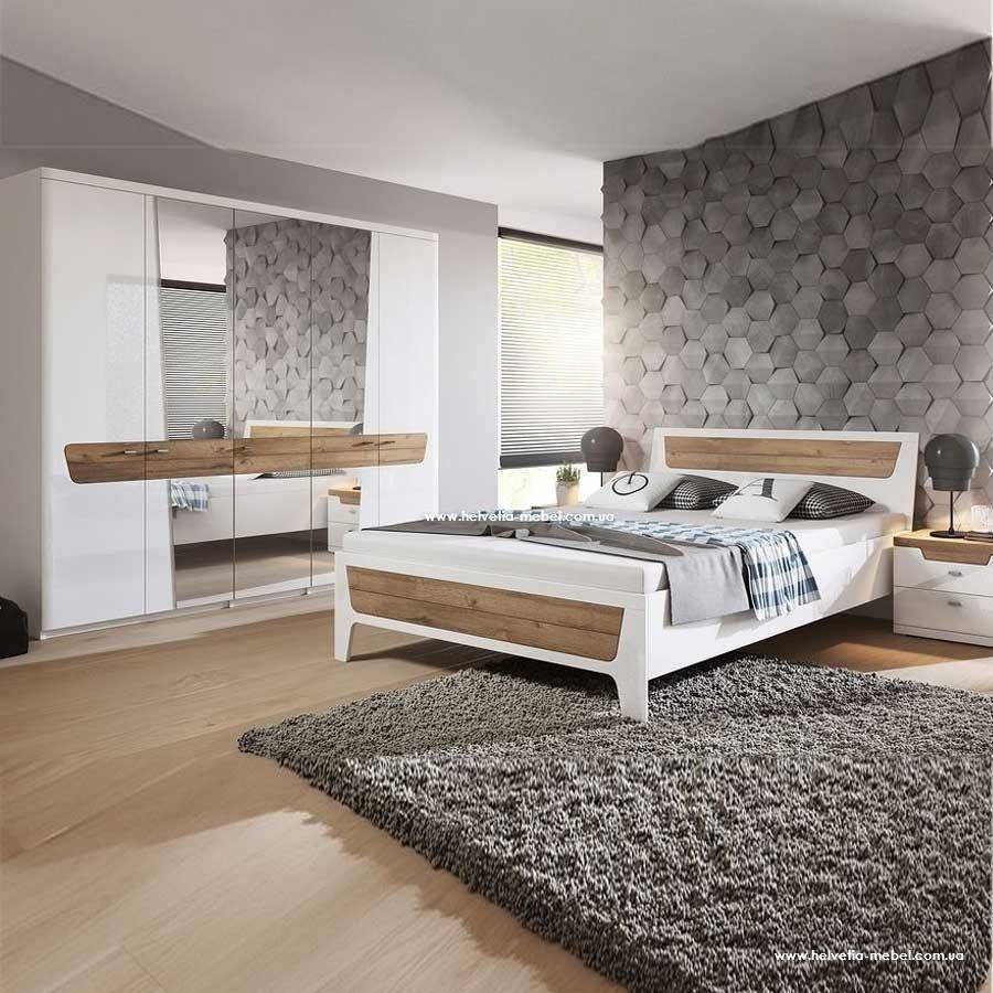 Комплект шкаф 5дв + кровать + 2 прикроватные Montreal