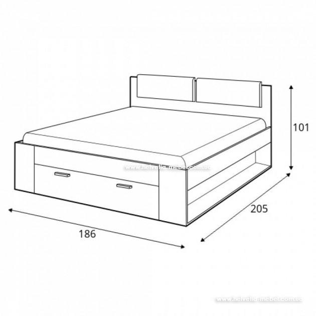 Кровать 180x200 Galaxy