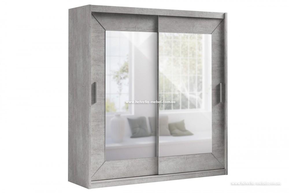 Шкаф купе (200 см) ALFA 22YL1578 бетон