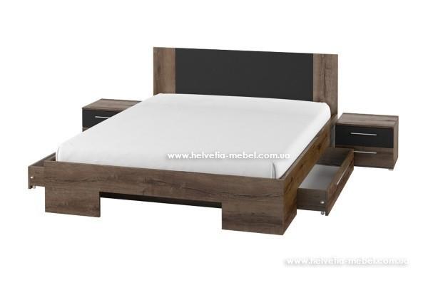 Комплект ящиков к кровати Vera Helvetia 83 дуб монастери