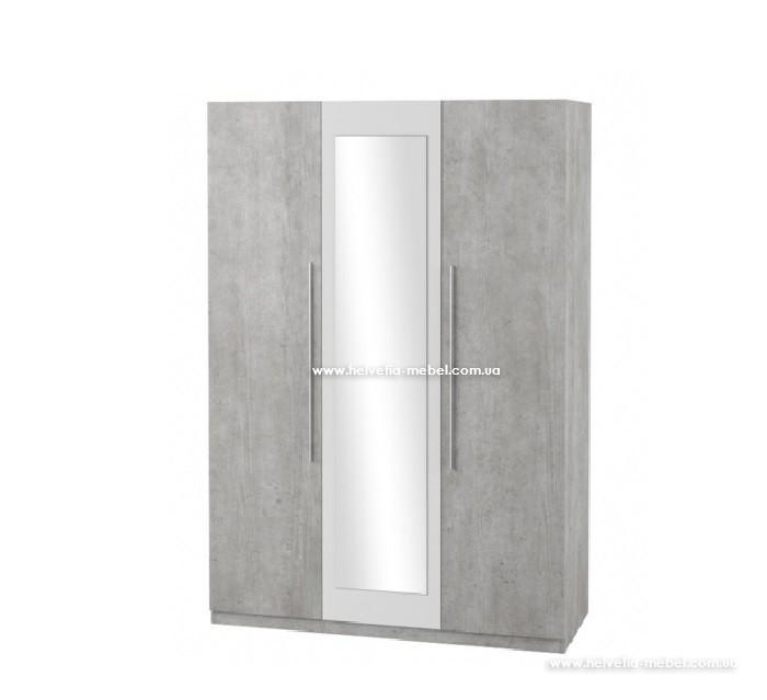 Шкаф 3дв Vera Helvetia 19 бетон колорадо