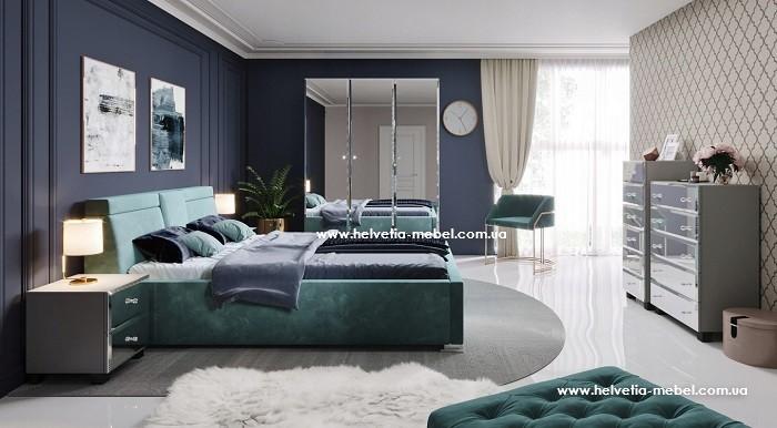 Комплект мебели для спальни Bellagio Helvetia серый