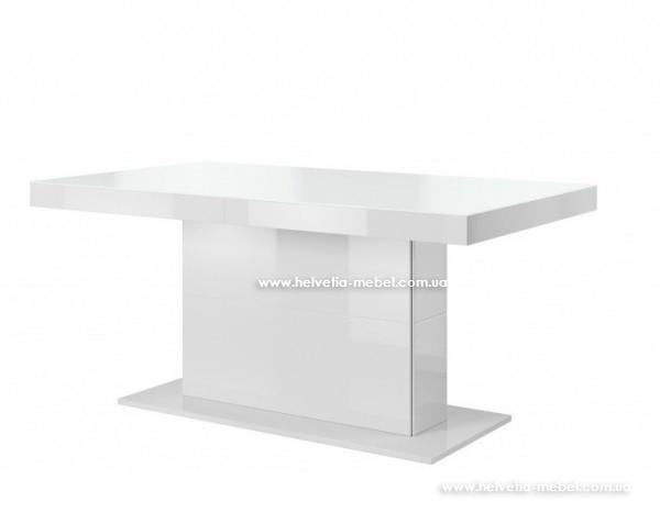 Стол обеденный раскладной Quartz Helvetia 81 белый