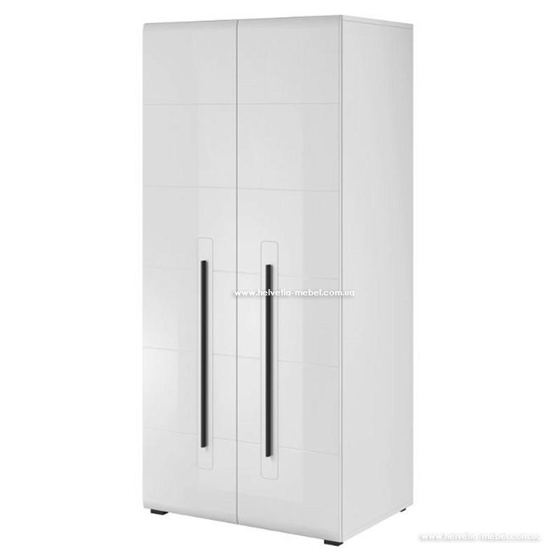 Шкаф 2D TULSA 18 белый глянец